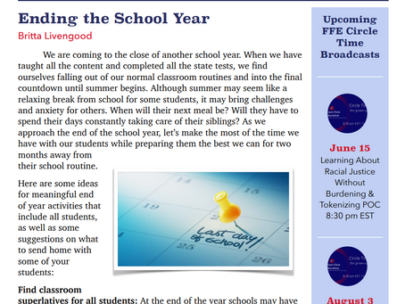 FUTURE FIRST EDUCATION| JUNE NEWSLETTER