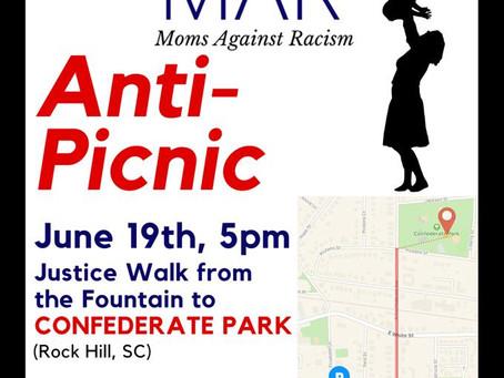 Anti-Picnic at Confederate Park