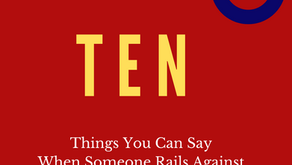 10 Things You Can Say When Someone Rails Against Critical Race Theory