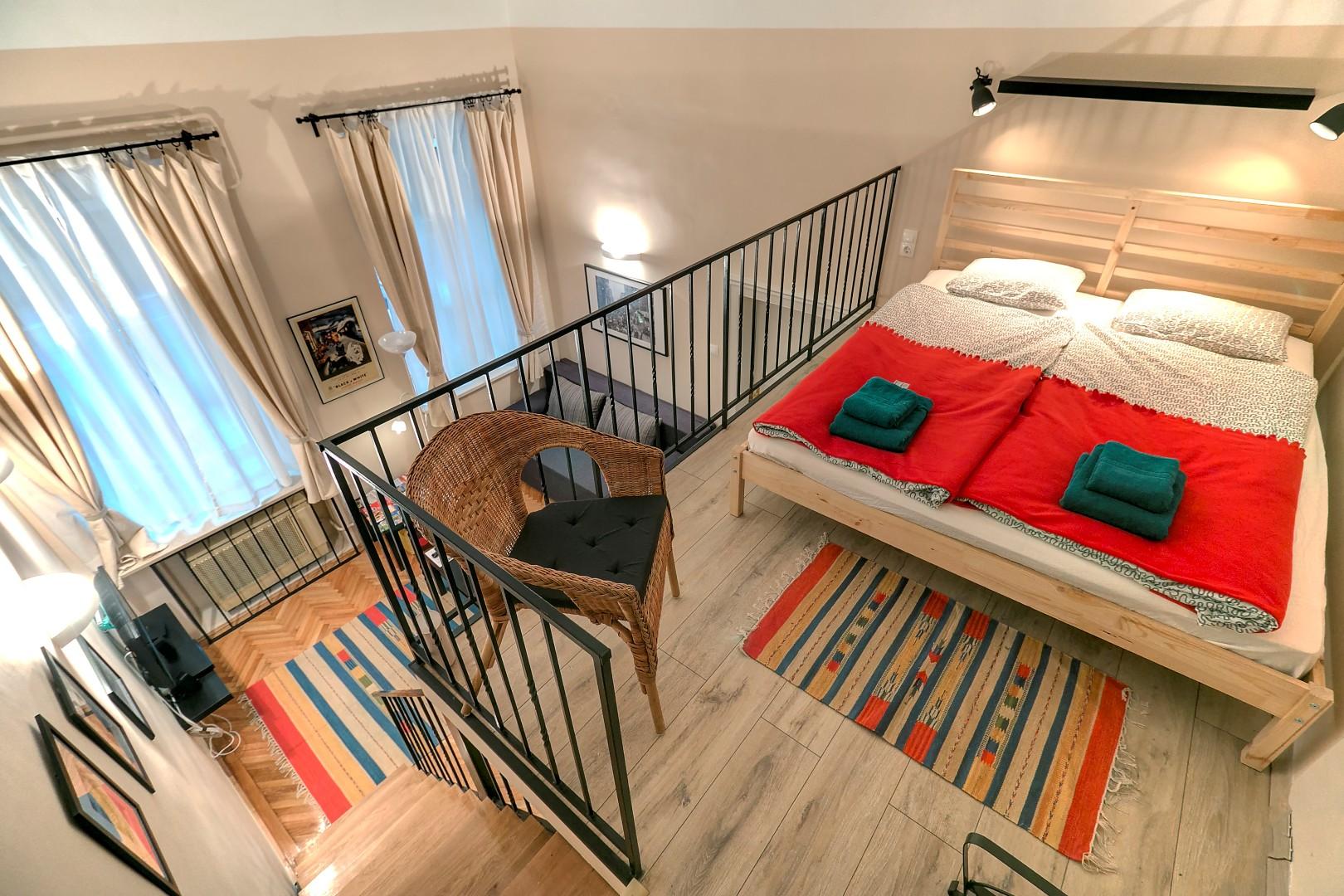 Bedroom upper level