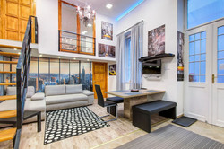 Little Wall Street - Living Room