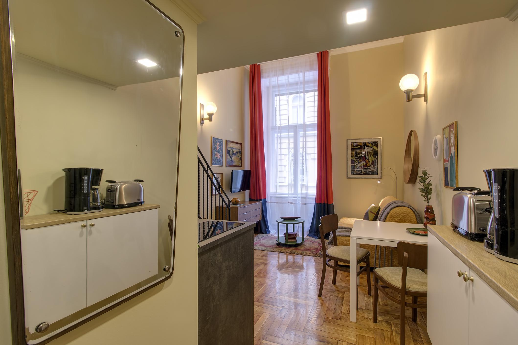 Entrée and living room