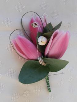 Large Tulip Buttonhole