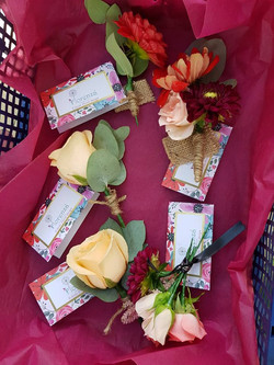 Packaged Buttonholes
