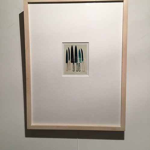 Andy WARHOL, Knives 1981 ( série de 3 photographies )