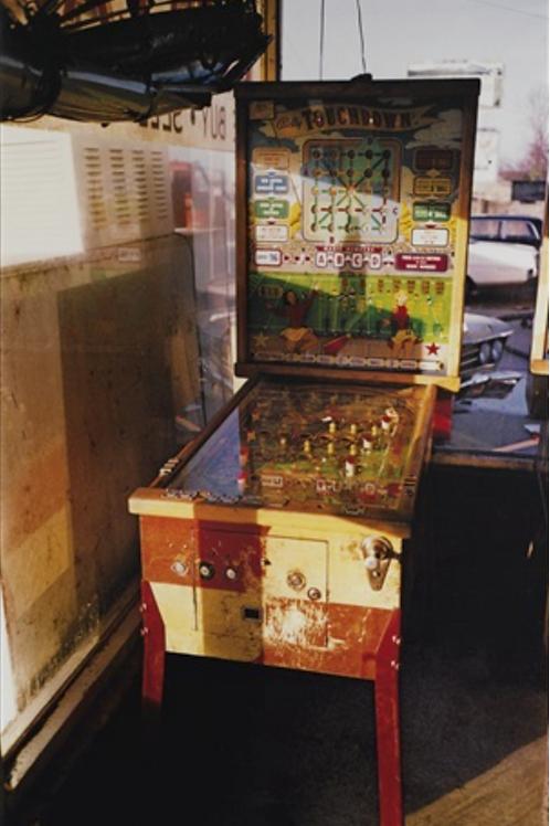 William EGGLESTON, 'Flipper, Pin Ball Machine', 1980