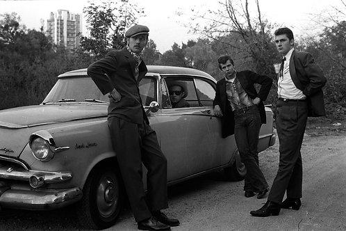 YAN MORVAN,1975, Sans titre