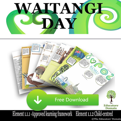 Waitangi Day Learning Story Pack