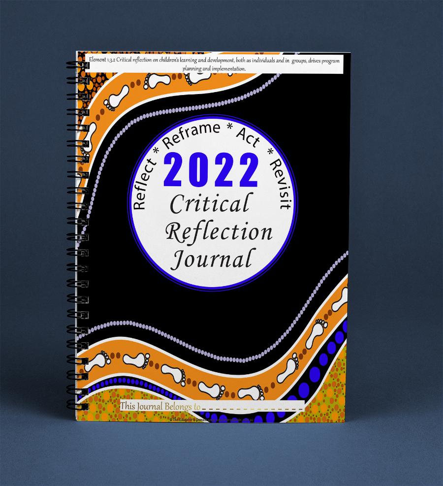 2022 Critical Reflection Journal- Footprints Cover Screenshot