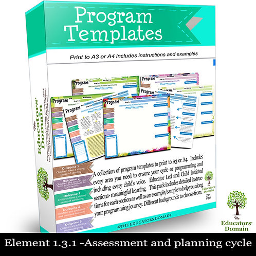 Program and Planning Start-up pack
