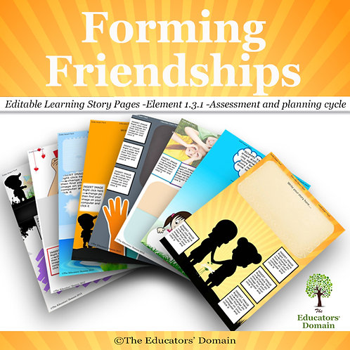 Friendships Learning Story Pack