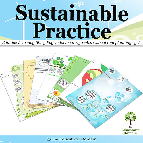 Sustainable Practice Learning Story Pack