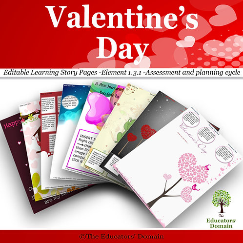 Valentine's Day  Learning Story Pack