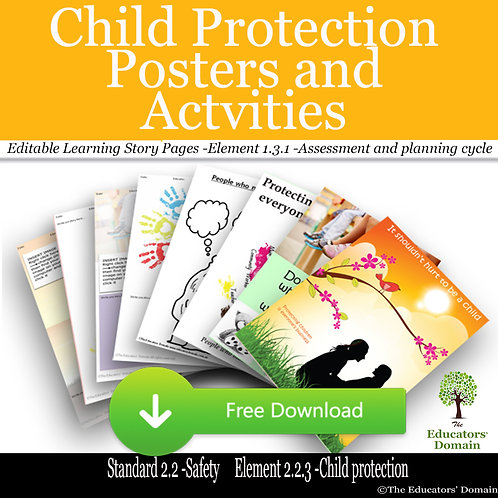 Free Child Protection Pack with Posters