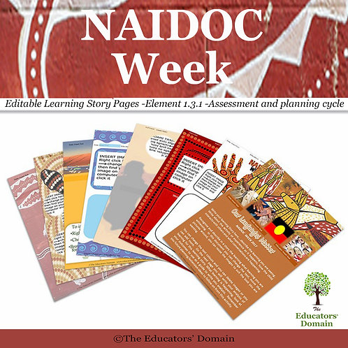 NAIDOC Week Learning Story Pack