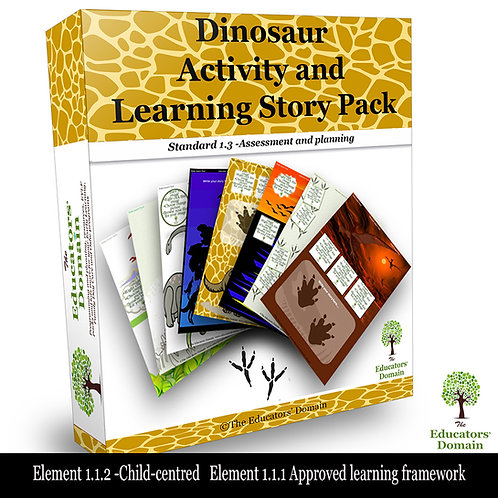 Dinosaur Activity and Learning Story Pack