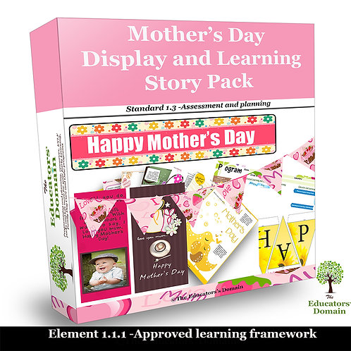 Mother's Day Display and Learning Story Pack