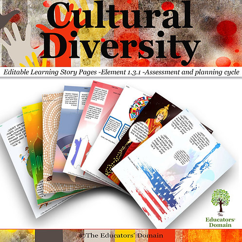 Cultural Diveristy  Learning Story Pack