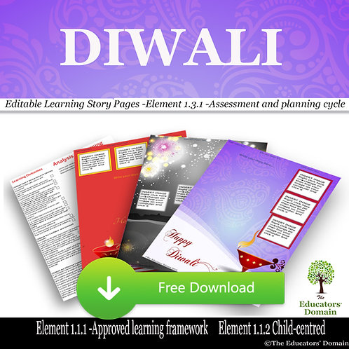 Diwali Learning Story Pack