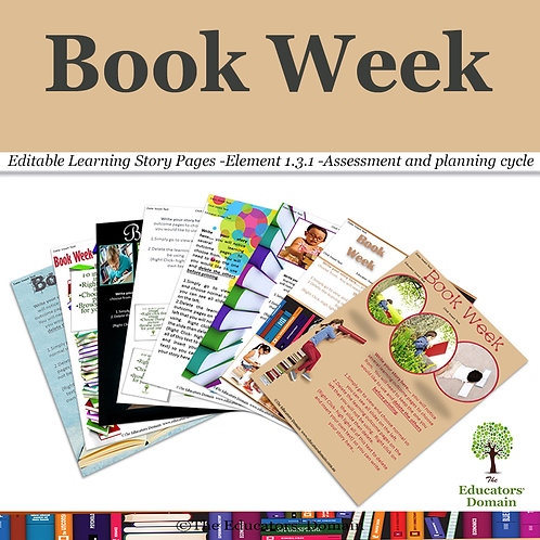 Book Week Learning Story Pack