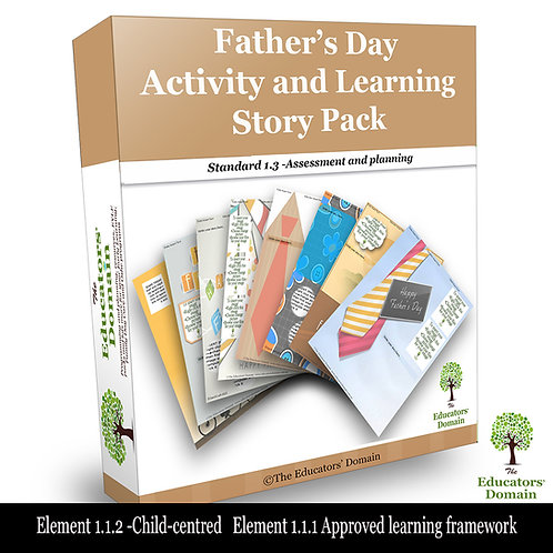 Father's Day Activity and Learning Story Pack