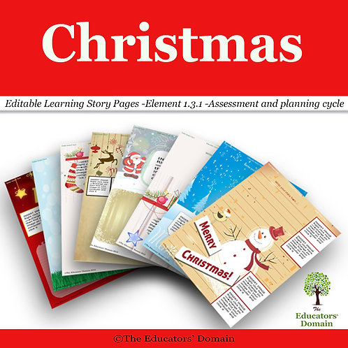 Christmas Learning Story Pack