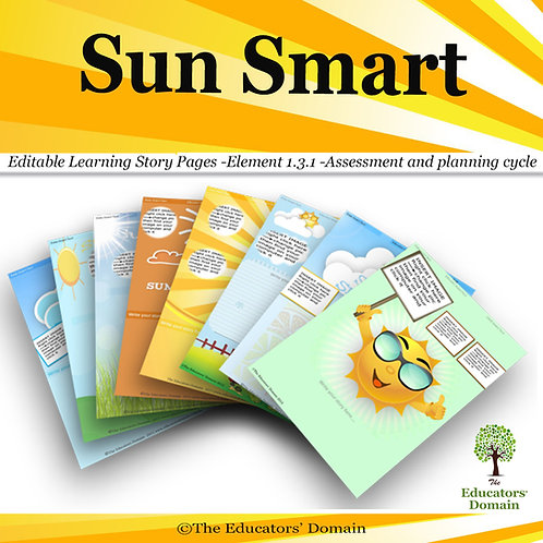 Sun Smart  Learning Story Pack