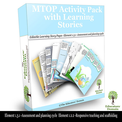 MTOP Activity and Learning Story Pack
