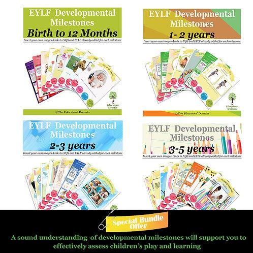 EYLF Developmental Milestones Full Set Offer