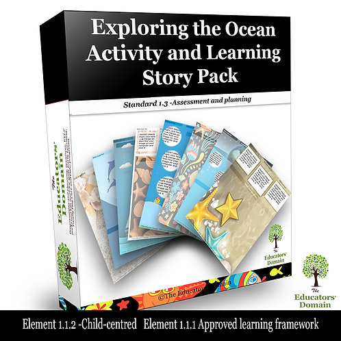 Exploring the Ocean Activity and Learning Story Pack