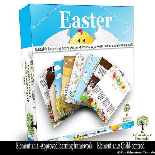 Easter Activity and Learning Story Pack