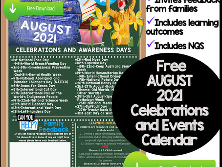 AUGUST 21 Awareness Days and Celebrations...