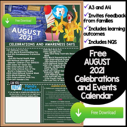 August Events and Awareness Days