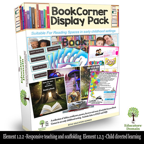 Book Corner/Reading Space Display and Activity Pack