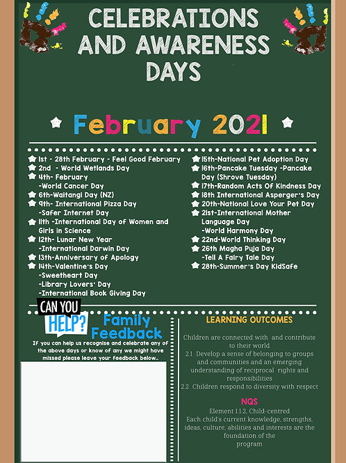 February Events and Awareness Days
