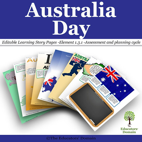 Australia Day Learning Story Pack