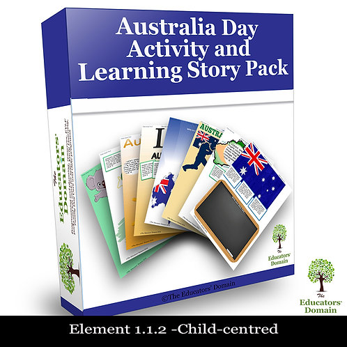 Australia Day Activity and Learning Story Pack