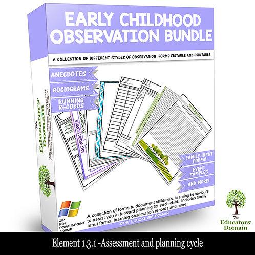 Early Childhood Observation Bundle
