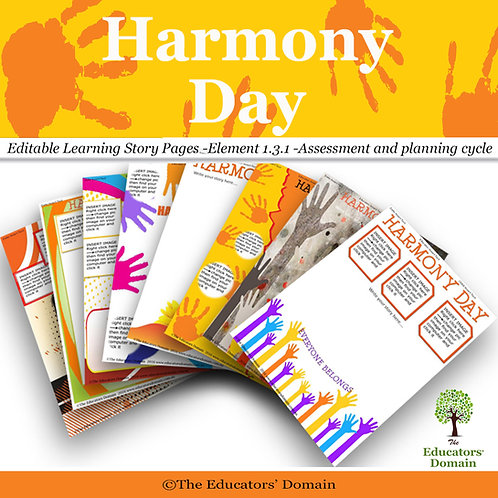 Harmony Day Learning Story Pack