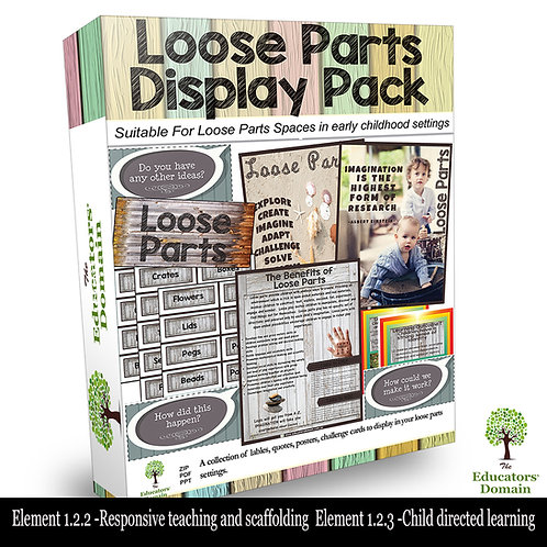 Loose Parts Display Pack
