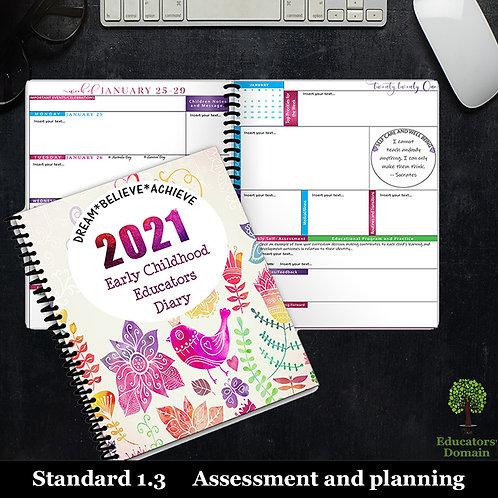 2021 Early Childhood Educators Diary