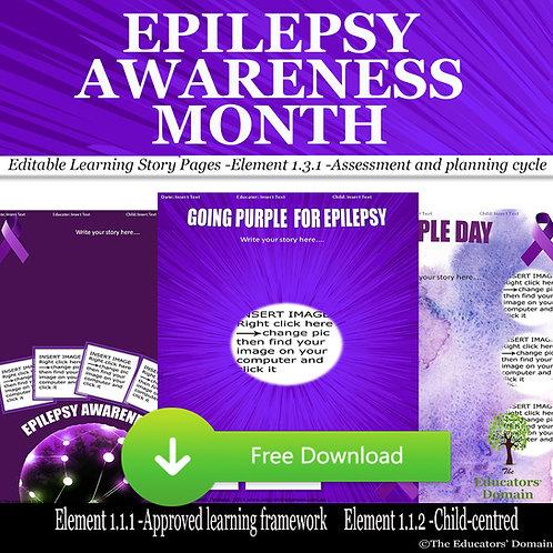 Epilepsy Awareness Learning Story Pack