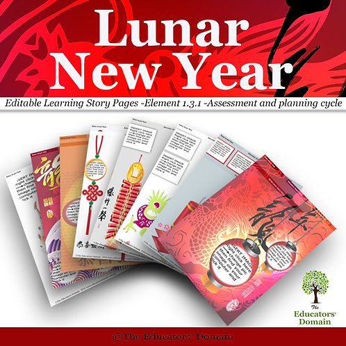 Lunar New Year Learning Story Pack