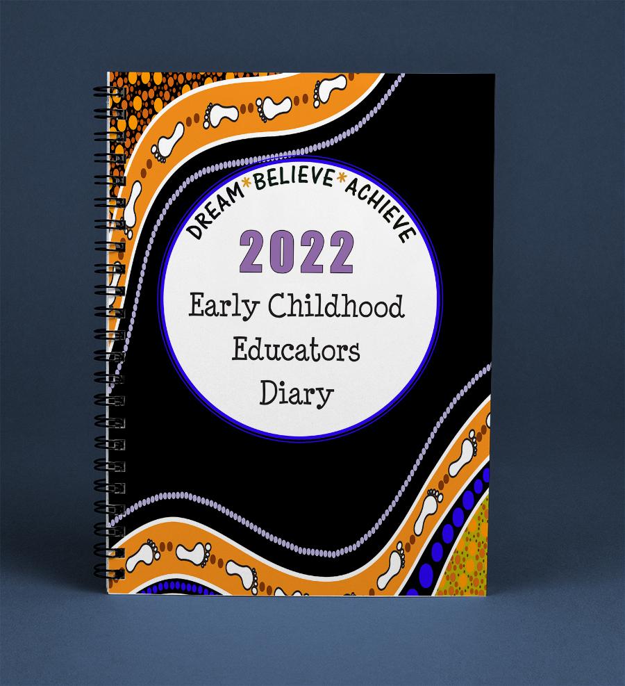 2022 Educators Diary- Footprints Cover Screenshot