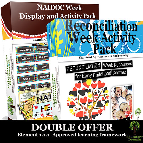 Double Offer- Reconciliation and NAIDOC Interest Area Packs