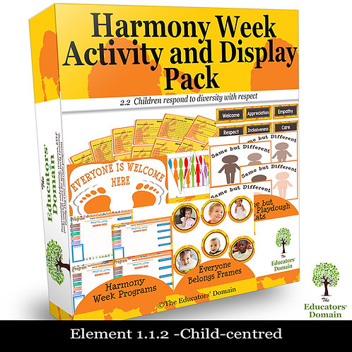 Harmony Week Activity and Display Pack