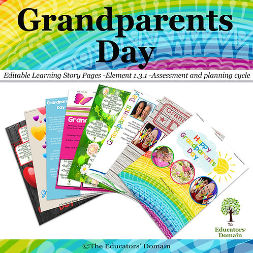 Grandparents Day Learning Story Pack