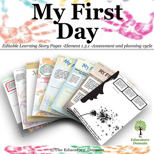 My First Day Learning Story Pack