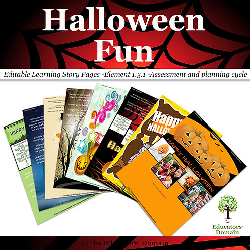 Halloween Fun Learning Story Pack