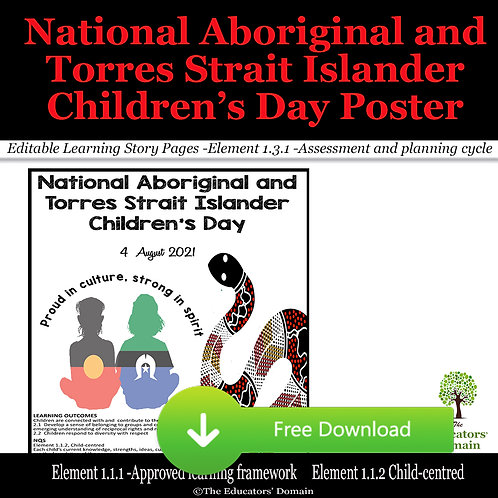 National Aboriginal and Torres Strait Islander Children's Day Posters